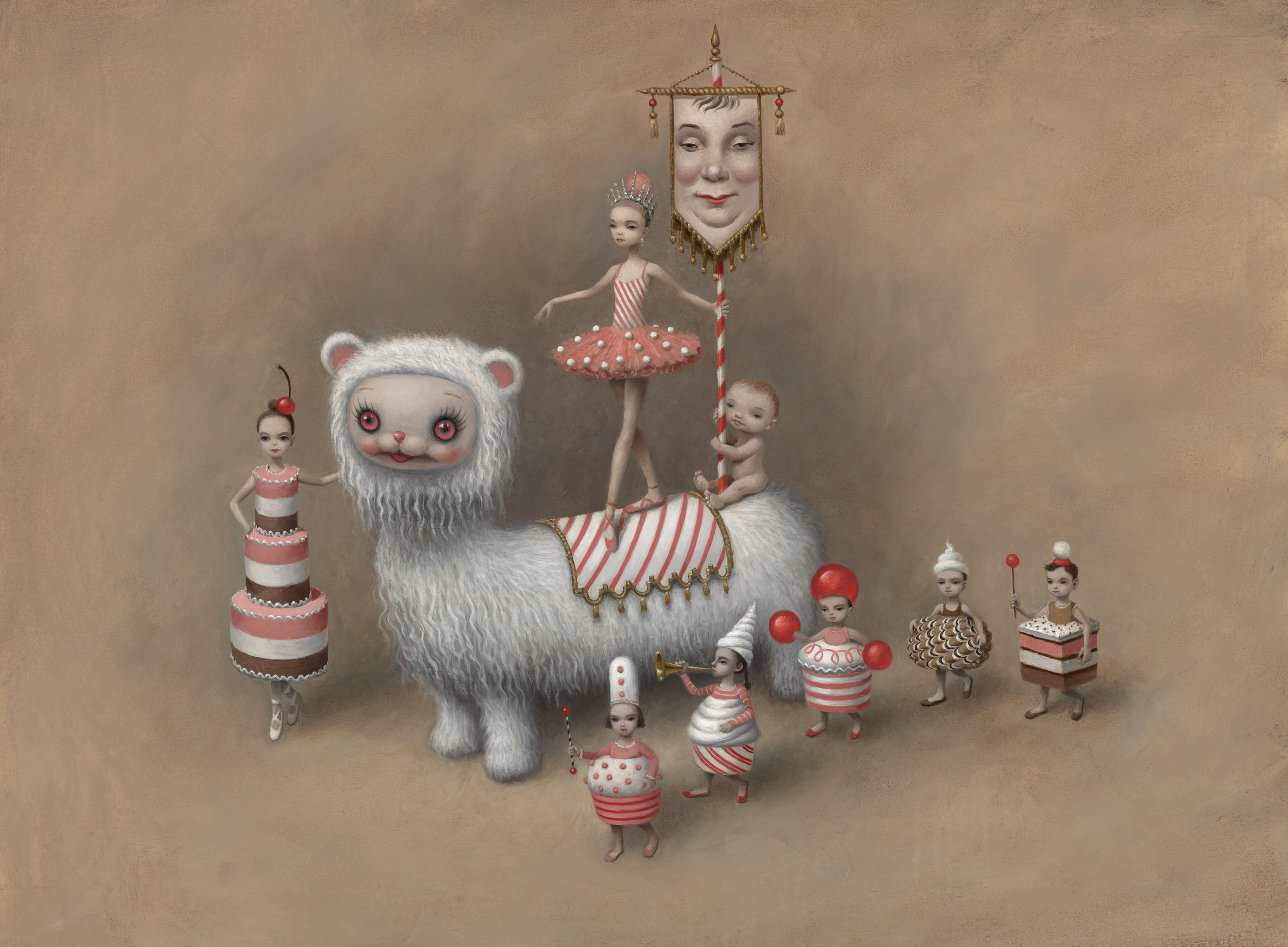 Artwork by Mark Ryden.