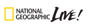 National Geographic Live logo.